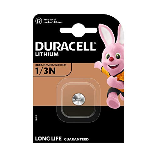Duracell - Pila especial para cámaras fotográficas - 1/3N Blister Grande x 1