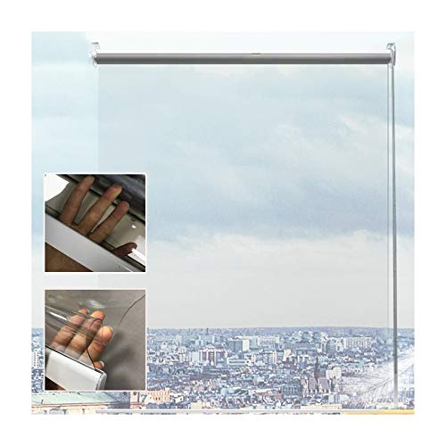 GDMING Transparente Impermeable Cortinas/Estores Enrollables, PVC Al Aire Libre Ventana Paneles para Pérgola Pabellón Cenadores Patio A Prueba De Viento Cubrir, Personalizable