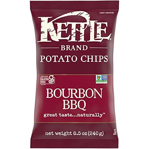Kettle Brand Potato Chips, Bourbon BBQ Kettle Chips, 8.5 Oz