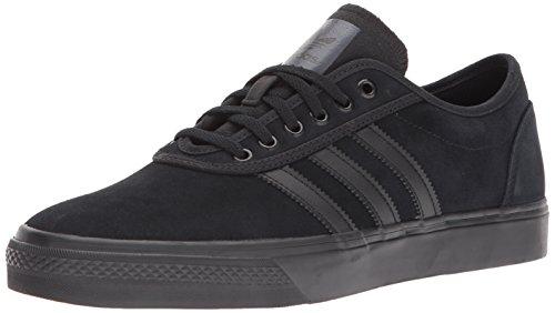 adidas Originals Men's Adiease Sneaker, Black/Black/Black, 11 M US