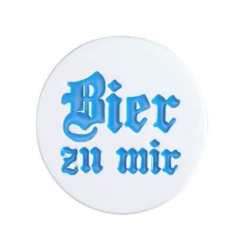Alpenklunker Brosche Anstecknadel Anstecker Pin Bier zu Mir Volksfest Oktoberfest