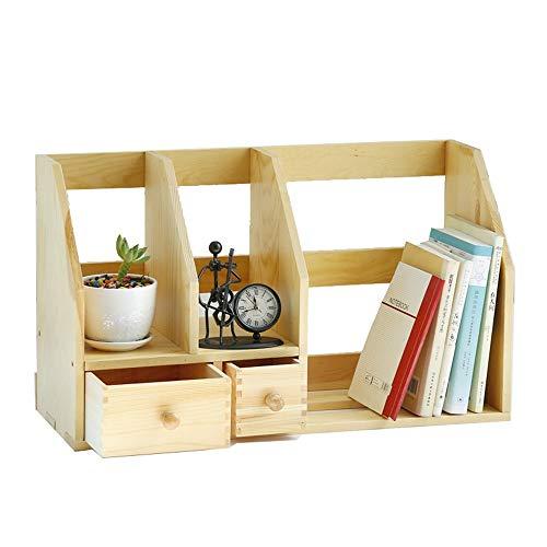 YBWEN-OSB Opbergbox voor kantoorbenodigdheden, 3 rekken & 2 uittrekbare schuifladen, stationaire kantoorbenodigdheden, opbergmand
