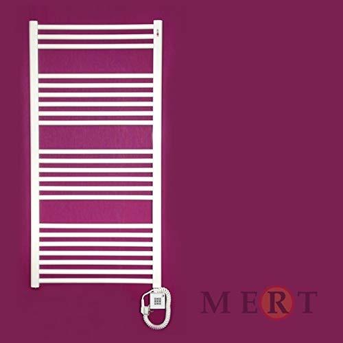 MERT E1 - Calefactor eléctrico para baño (1200 x 600, sin termostato,...