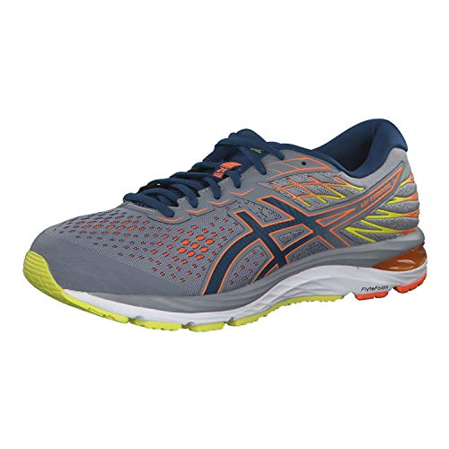 ASICS Mens Gel-Cumulus 21 Running Shoes, Grey, 47 EU