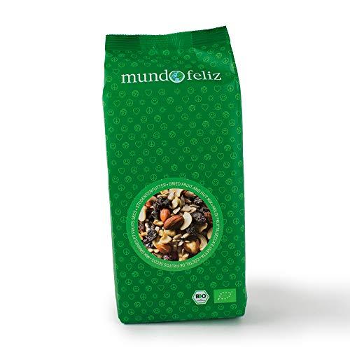 Mundo Feliz - Lot de 2sachets de mélange de fruits et de noix bio, 2x500g