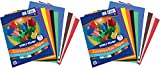 Tru-Ray Construction Paper, 10 Classic Colors, 9' x 12', 50 Sheets -2 Pack