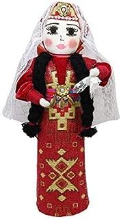 Armenian Girl Cone Doll with Armenian Costumes doll wearing traditional clothing Taraz Armenian Girl Cone Doll with Armenian Costumes