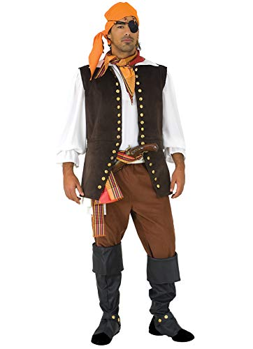 Unbekannt Stamco, Freibeuter Pier, Piratenkostüm für Herren