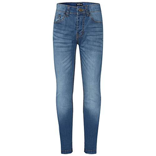 A2Z 4 Kids Kinder Jungen Dünn Jeans Mid Blau Designer - Boys Jeans JN52 Mid Blue_13