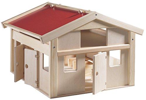 HABA 24162 Holz Farm, Rollenspiele & Zimmer Zubehör, für Kinder