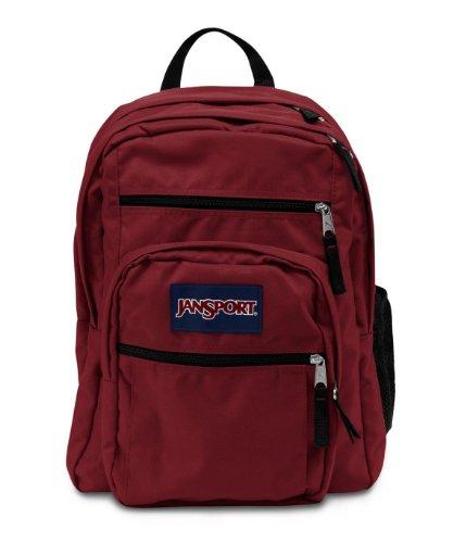 Jansport Big Student - Mochila, color granate, tamaño One_Size