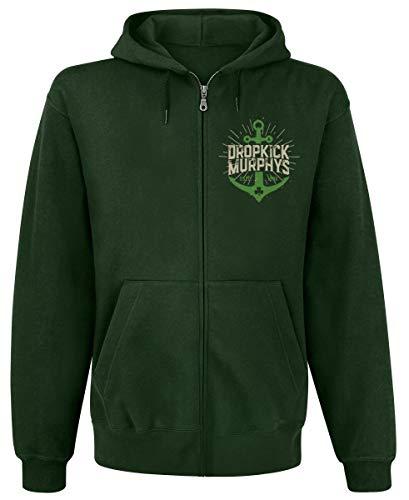 Dropkick Murphys Anchor Admat Green Männer Kapuzenjacke dunkelgrün L