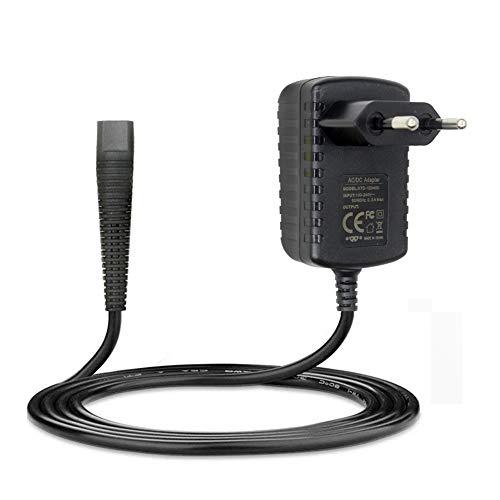 Cargador adaptador de 6 V 600 mAh compatible con Braun 130/140/150/5417/5418/530/550/HC3050/BT5090/530s/550s enchufe de la UE