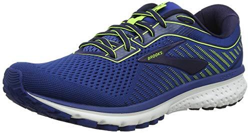 Brooks Ghost 12, Men's Mid-Top Sneaker, Blue (Blue/Navy/Nightlife 402), 6.5 UK (40.5 EU)
