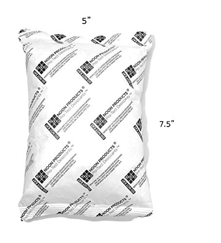 Large Storage Silica Packet (Single) 450 Gram Desiccant Dehumidifier Moisture Absorbing Pouches Conforms to MIL-D-3463E I & II Absorbents. Perfect for Gun Storage, SAFES, Tools, Food Storage and More