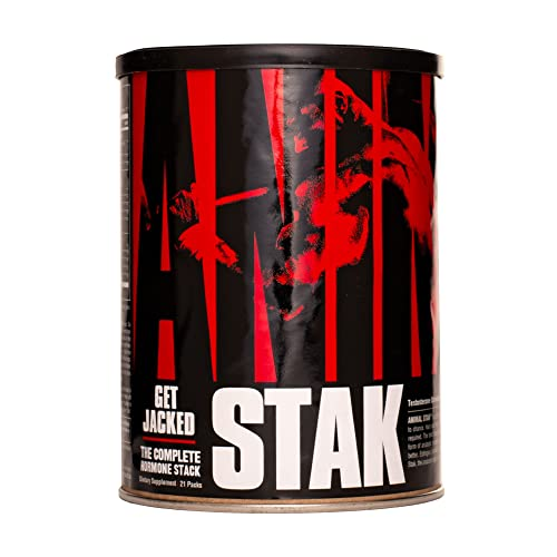 Animal Stak - Natural Hormone Booster Supplement with...