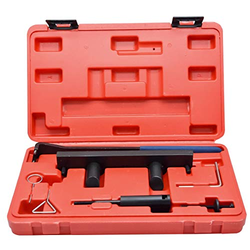 MASO Kit de 7 outils de verrouillage d'arbre à cames pour Audi A3 Skoda Golf 2.0L FSi