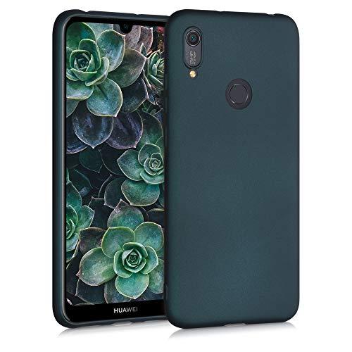 kwmobile Hülle kompatibel mit Huawei Y6s (2019) - Hülle Handyhülle - Handy Hülle in Metallic Petrol