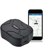 Zeerkeer GPS Tracker,10000mAH Localizador GPS Seguimiento en Tiempo Real Alarma Anti-pérdida Profesional Rastreador GPS Impermeable para Coche, Moto ,Congelador, Barco