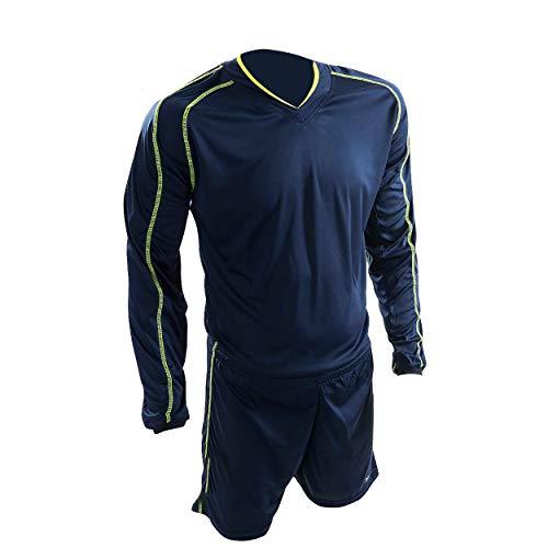 Precision Marseille Sport-Shorts und T-Shirt, Unisex, für Erwachsene, Mehrfarbig XXL