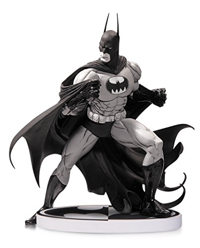 DC Direct- Batman Black & White Tim Sale 2nd Edition Figurine, 761941324227, 20 cm