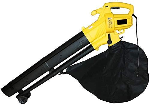YYCHJU Starker Laubbläser Rückentragbar Laubsauger Garden Vacuum 3000w elektrisches Gebläse und Absaugung, große Kapazitäts-Shredder, Schlag und Saug-Dual-Mode-Schlag und Saug-Maschine