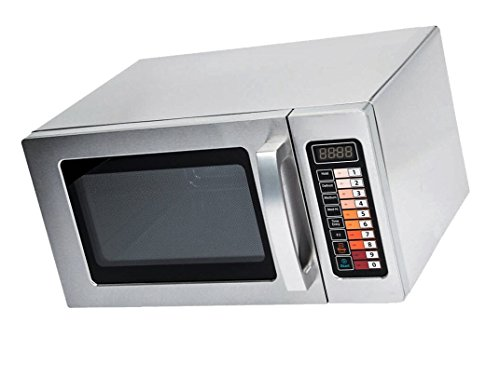 Microwave Special Offer Stainless Steel Microwave with Push Button Control Now on Sale Price for a limited time only (Stainless Steel, 0.9 cu. ft 1000W)