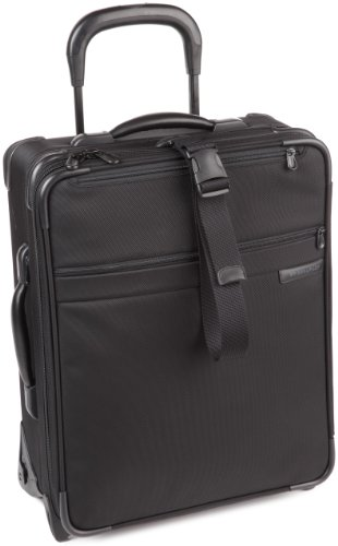 Best Review Of Briggs & Riley Baseline-Expandable Softside Wide-Body Carry-On Upright Luggage, Black...