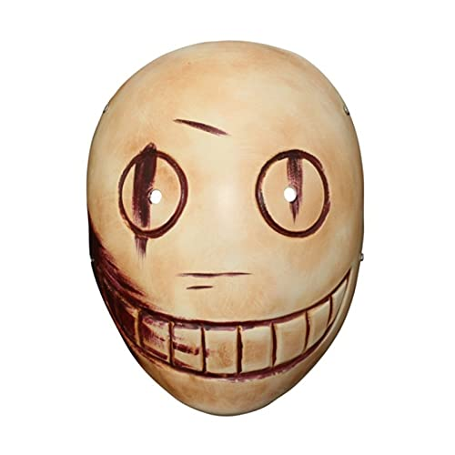 WWWL Mascara de Halloween Muerte por DIAPOR LUZ Cosplay MÁSCARA DE Resina Durante Halloween HABITACIÓN DE Halloween 25x19.5cm (Color : Black, Size : M)
