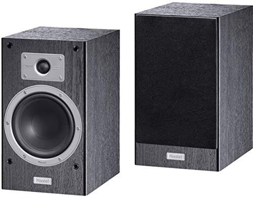 Magnat Tempus 33   HiFi-Sound im Regalformat   Schlichtes Design, herausragender Klang   1Paar - Schwarz