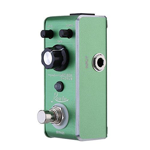 ammoon Chorus Pedal Mini Portable Guitar Effect Pedal Rowin LEF-604