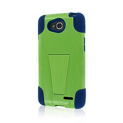 MPERO IMPACT X Series Kickstand Case for LG Optimus L90 - Blue/Green