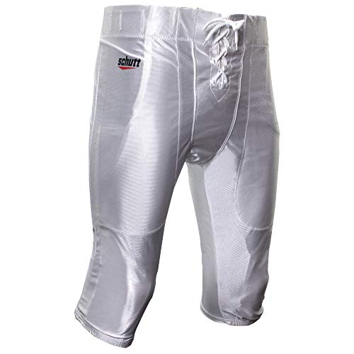 Schutt Sports Varsity Football Practice Pant, White, X-Large