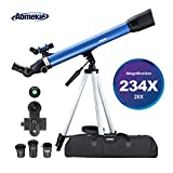 Best Telescope For Terrestrial Viewings - AOMEKIE Telescopes for Adults Astronomy Beginners Kids 234X Review