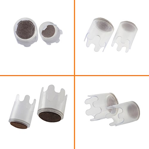 Furniture Feet Stretchable Furniture Slider Pads SMALL 16 Piece Value Pack