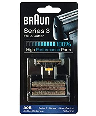 Braun Combi 30B Foil and Cutter replacement. For Series 3 (older generation), Series 1 (older generation), TriControl, 7000/4000 Series.