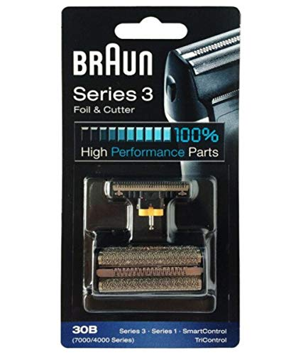 ORIGINAL BRAUN 30B 7000/4000 Series 3 SYNCRO Shaver / Razor FOIL + CUTTER COM491