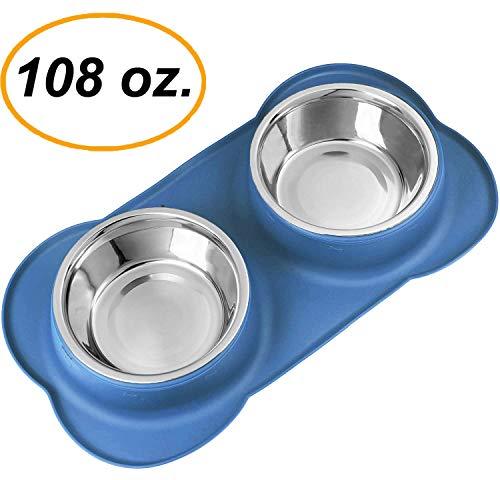 EZPETZ Large Dog Bowls