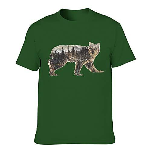 Herren Baumwolle T-Shirts - Sweethearts Outfit T-Shirt Dark green001 5XL