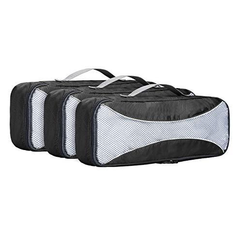 G4Free トラベルポーチ 3点/6点/7点セット 衣類圧縮バッグ アレンジケース 撥水加工 小物入れ 旅行 出張用 収納バッグ 大容量 衣類・洗面用具・靴・下着 便利グッズ