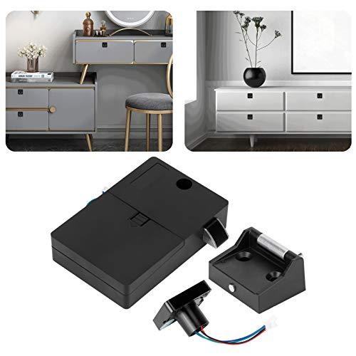 Cerraduras de huellas dactilares de cajón, cerradura de armario de archivos con cerradura de huellas dactilares para muebles electrónicos de cerraduras de puertas de gabinete