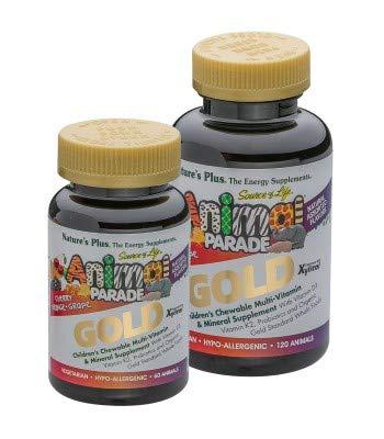 Animal Parade Gold Multivitamin für Kinder Fruchtmix 120 Lutschtabletten