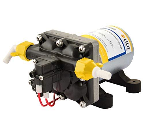 Shurflo Druckwasserpumpe Lilie Soft 12V 11,3 l/m 2,1 bar einstellbar 1,7 bis 2,8 LS4142