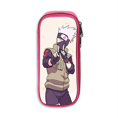 Etryrt Pencil Case, High Capacity Stylish Hatake Kakashi Print Pens Pouch Bag Cosmetic Bag