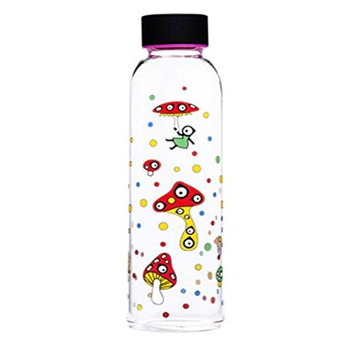 randonnée/marche/camping bouteille sport verre, 550 ml[Happy Mushroom]