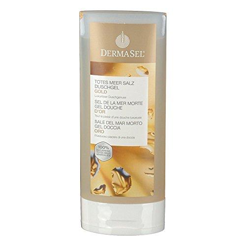 Dermasel Duschgel Mer Morte d'Or Flasche, 150 ml, 4 Stück
