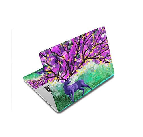 Peach-girl - Carcasa para Macbook/Lenovo/Acer/Xiaomi Air/HP, adhesivo para ordenador portátil 14 13,3 15,6 17,3 11,6 pegatinas decorativas para ordenador portátil Skin-10' (27 x 17 cm)