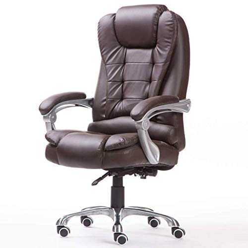 YJTGZ Desk chairs Furniture Home accessories Computer study chair Office chair Leather swivel chair Executive chair for office Massage armchair for living room Comfortable chair (Soft PU leather)