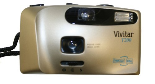 Vivitar T200 35mm Flash Switchable Panoramic Film Camera