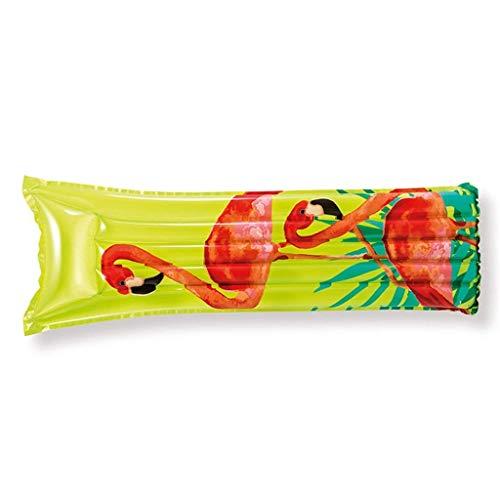 TYUXINSD Licht Schwimmbad Schwimmbett Single Aufblasbare Floating Reihen Schwimmbad Küste Erwachsene Schwimmbett Kinder Schwimmen Luftkissen Multicolor Optionale Airbetten & Schlauchboote
